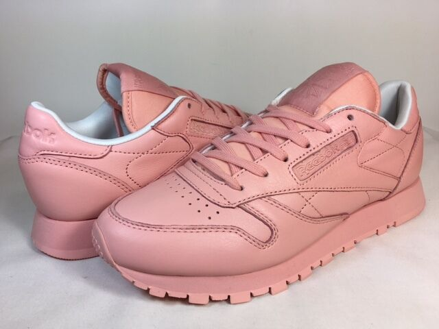 2966aab5c0f8c Details about WOMENS REEBOK CLASSIC LEATHER PASTELS BD2771 Patina Pink White