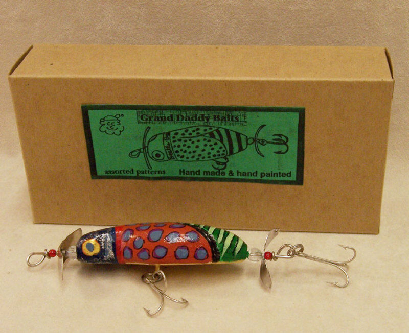 Hand Painted Wooden Fishing Lures
