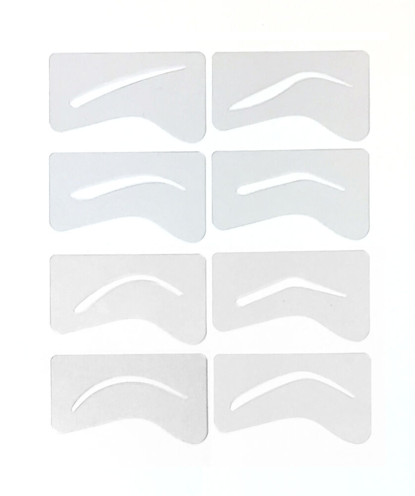 eyebrow templates printable - 24 microblading eyebrow stencil template permanent makeup