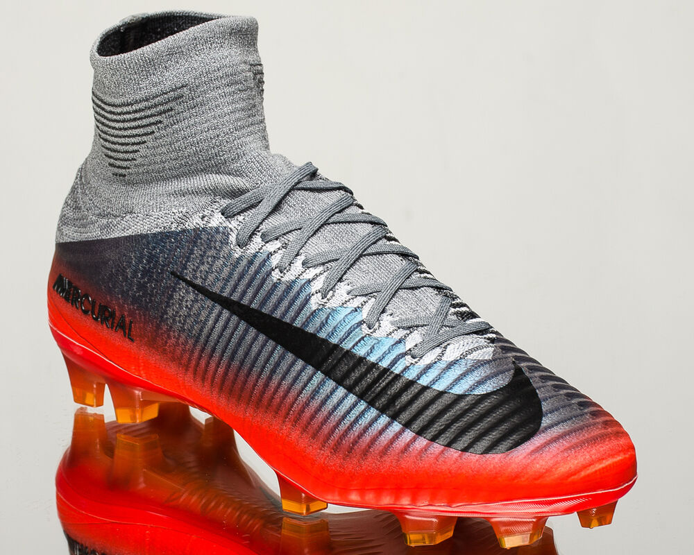 quality design 84ee7 d07a3 Details about Nike Mercurial Superfly V CR7 FG men soccer cleats football  cool grey 852511-001