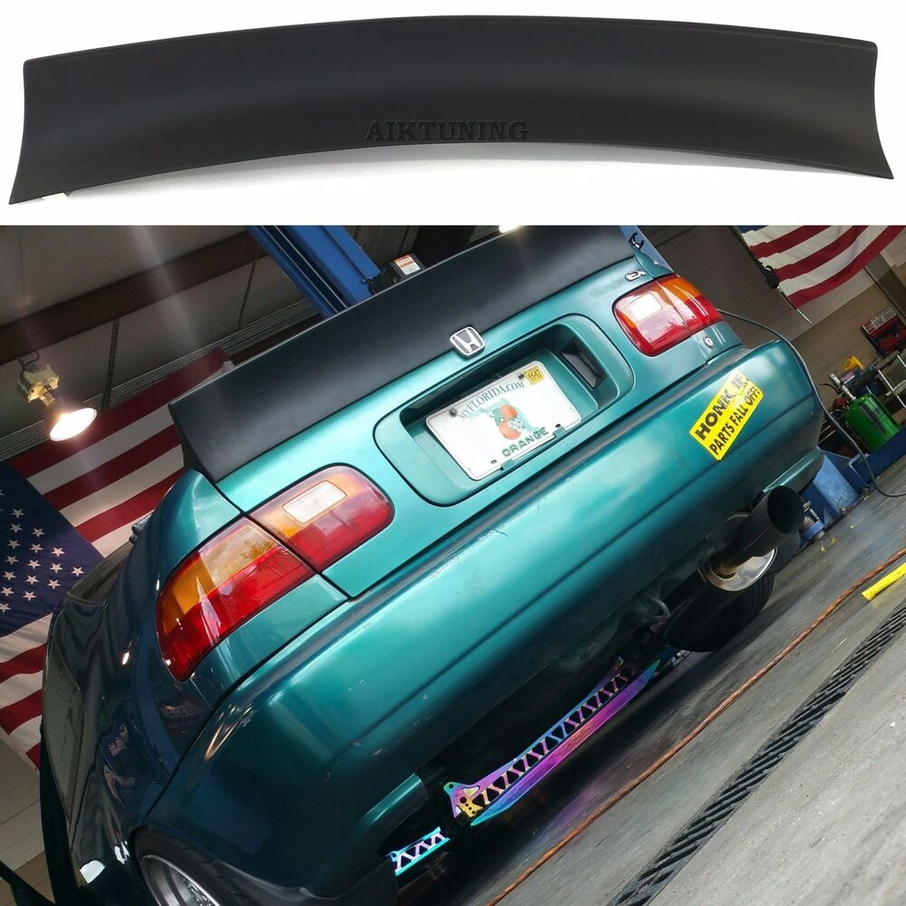 Honda Civic MK5 5th Gen Coupe Rear Trunk Spoiler Ducktail Wing Boot Lid Lip Tail | eBay