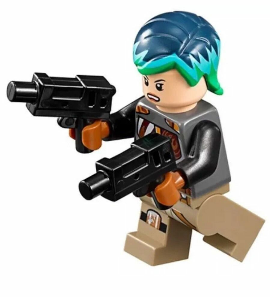 lego star wars rebels minifigure sabine wren with dual