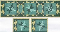 Star of Wonder Table Runner/Placemats quilt pattern