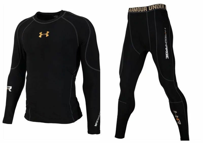Under armour men 39 s cold gear long tigth and long sleeve for Under armour cold gear shirt mens