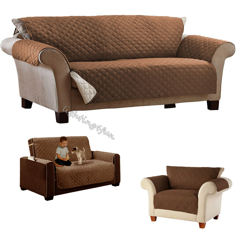Waterproof 1 2 3 Seater Dog Cat Sofa Cover Pet Furniture
