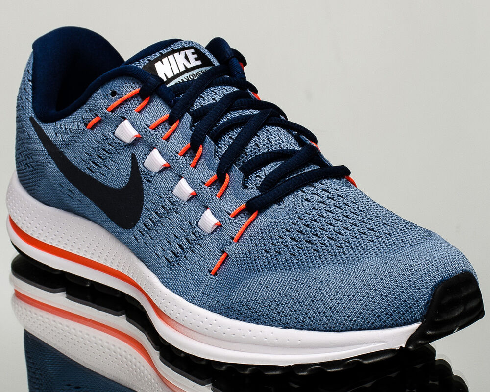 outlet store 88452 a0e18 863762 Nike Air Zoom Vomero 12 men running run sneakers NEW work blue 863762 -403 ...