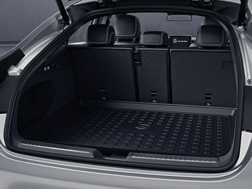 2538140200 mercedes benz glc coupe trunk cargo liner tray for Mercedes benz glc 300 accessories