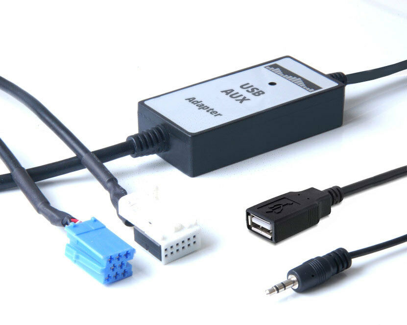 usb stick und aux media in interface adapter vw golf 4 5 6. Black Bedroom Furniture Sets. Home Design Ideas