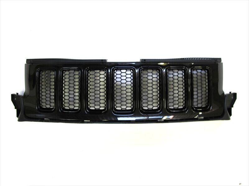 2011 2013 Jeep Grand Cherokee Front Grille Brilliant Black