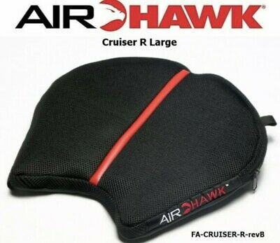 AIRHAWK Cruiser R Large Air Pad Motorcycle Seat Cushion (14