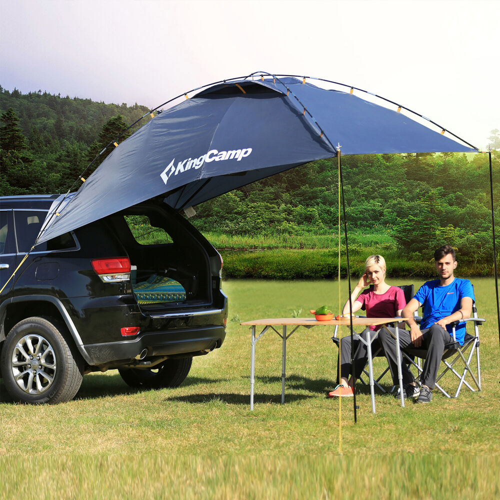 Outdoor Tents For Cars : Kingcamp suv shelter truck car tent trailer awning rooftop