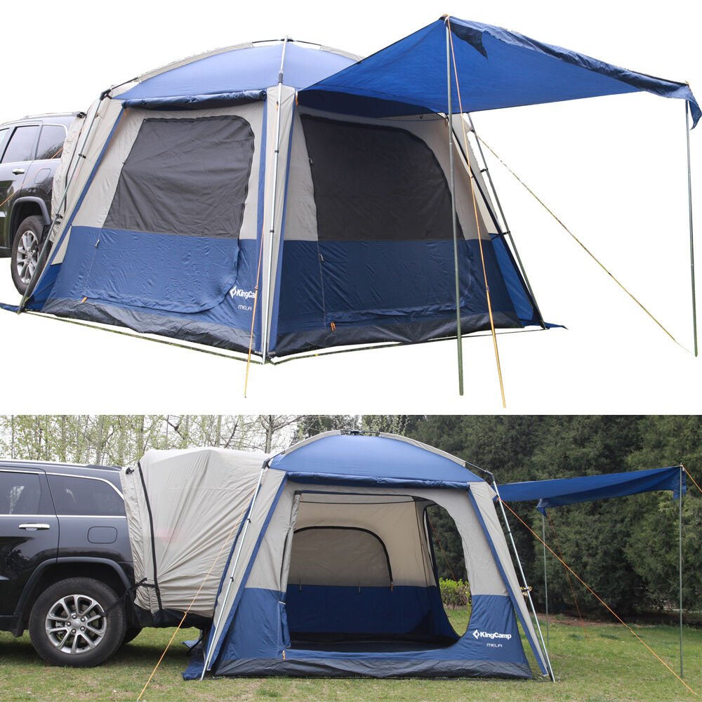 Car Driving Tent Picture : Suv truck car camping tent person outdoor waterproof