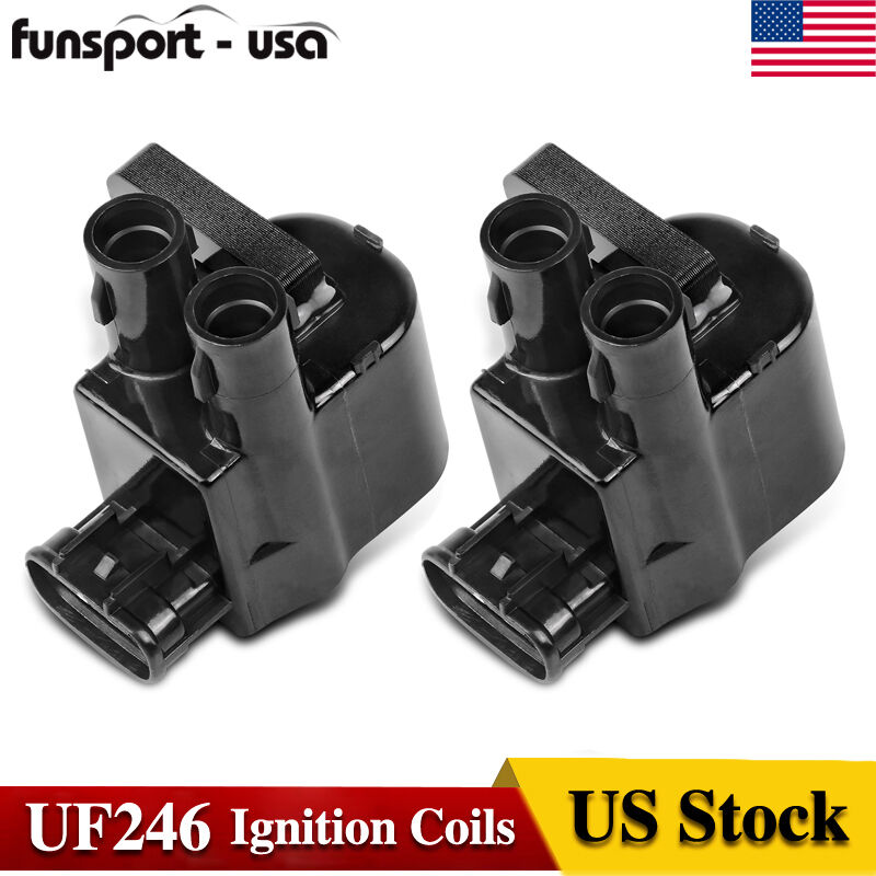 Ignition Coil Usa: 2pcs Pack Ignition Coils For 1998 1999 Toyota Corolla 1.8L