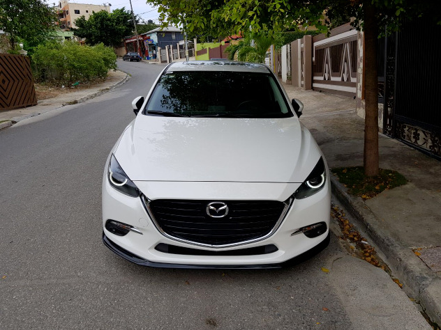 Mazda 3 2017 Front Lip Body Kit Painted Abs Plastic Ebay