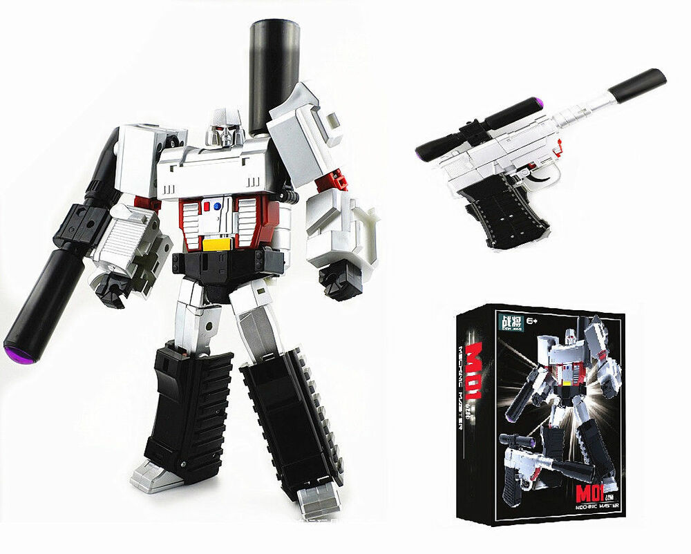 "Transformers G1 Voyager Megatron 7"" Toy Action Figure New ..."