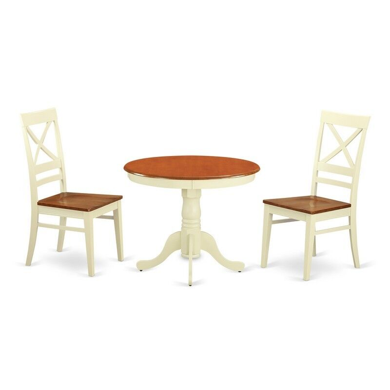 Kitchen Nook Table Sets: 3 Pc Kitchen Nook Dining Set For 2-Kitchen Dinette Table