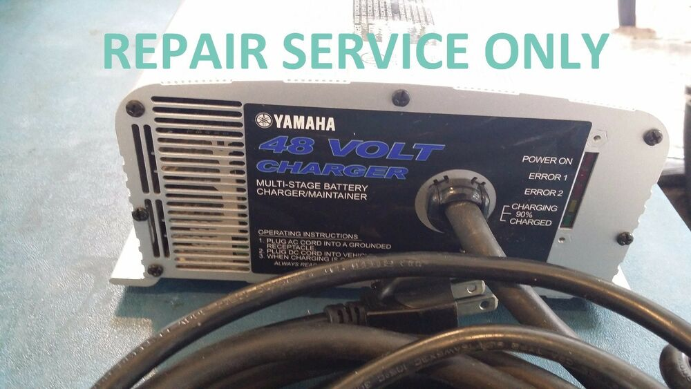 Repair Service For Oem Yamaha 48v 17a Golf Cart Battery Charger Jw2