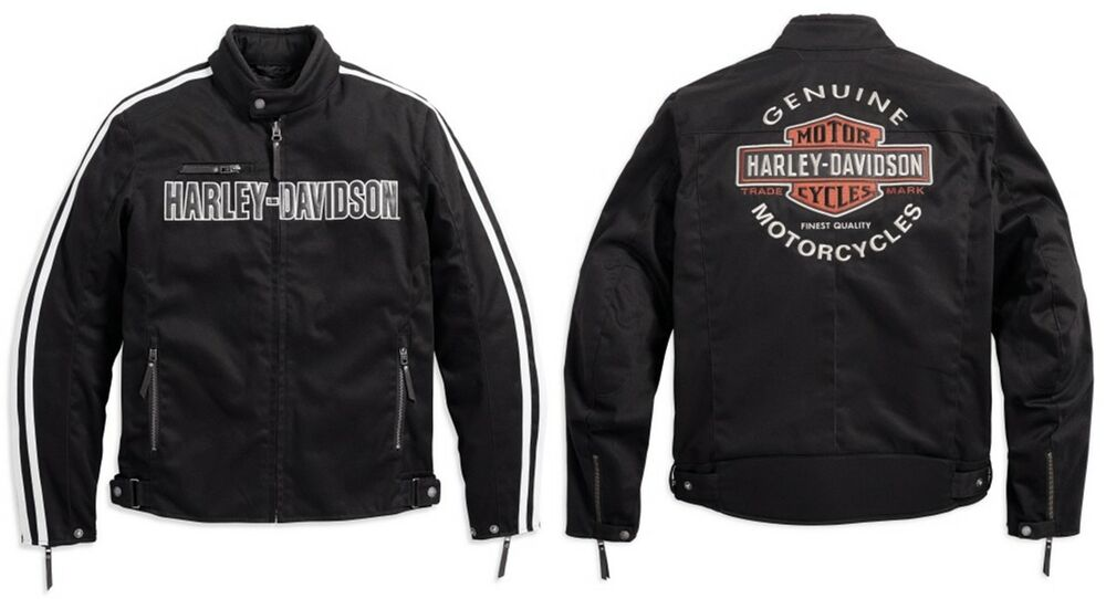 harley davidson rally textile riding jacke gr m herren. Black Bedroom Furniture Sets. Home Design Ideas