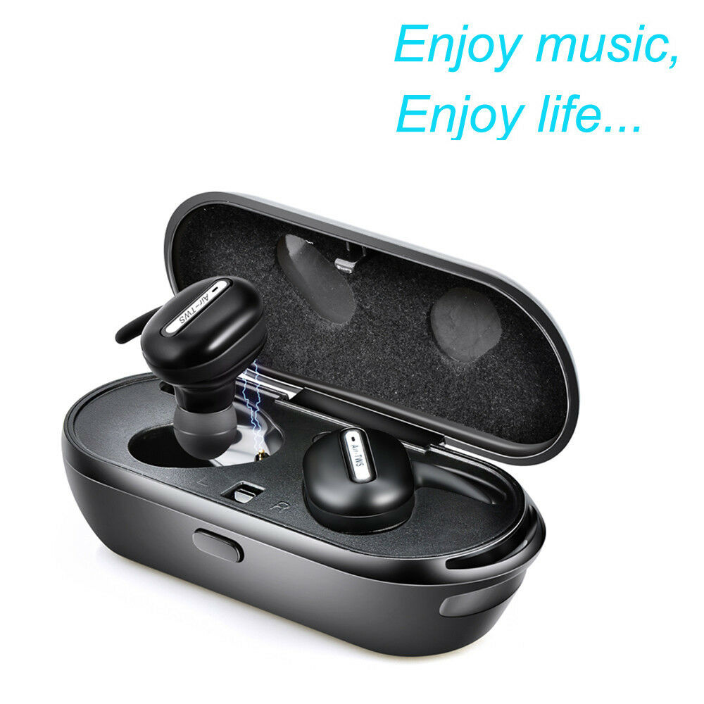 mini twins wireless bluetooth stereo headset in ear earphones earbuds for iphone ebay. Black Bedroom Furniture Sets. Home Design Ideas