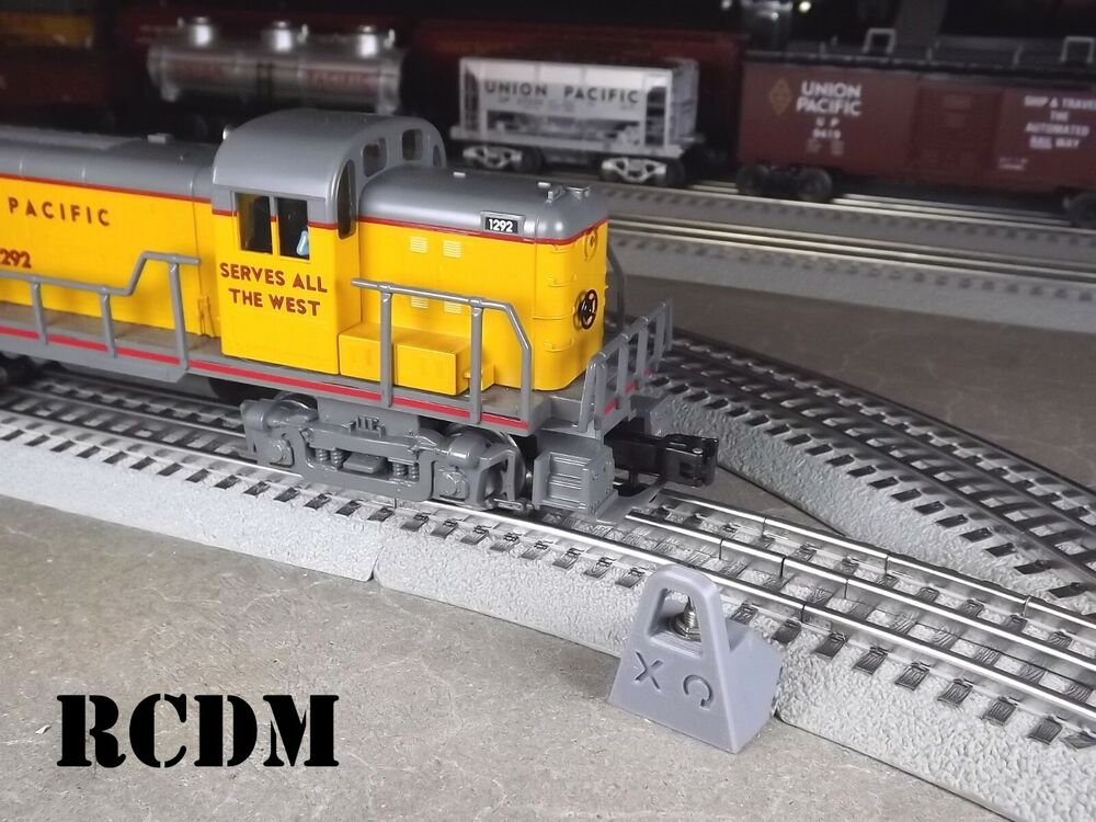 Rcdm Siding Power Switch For Lionel Fastrack O Gauge