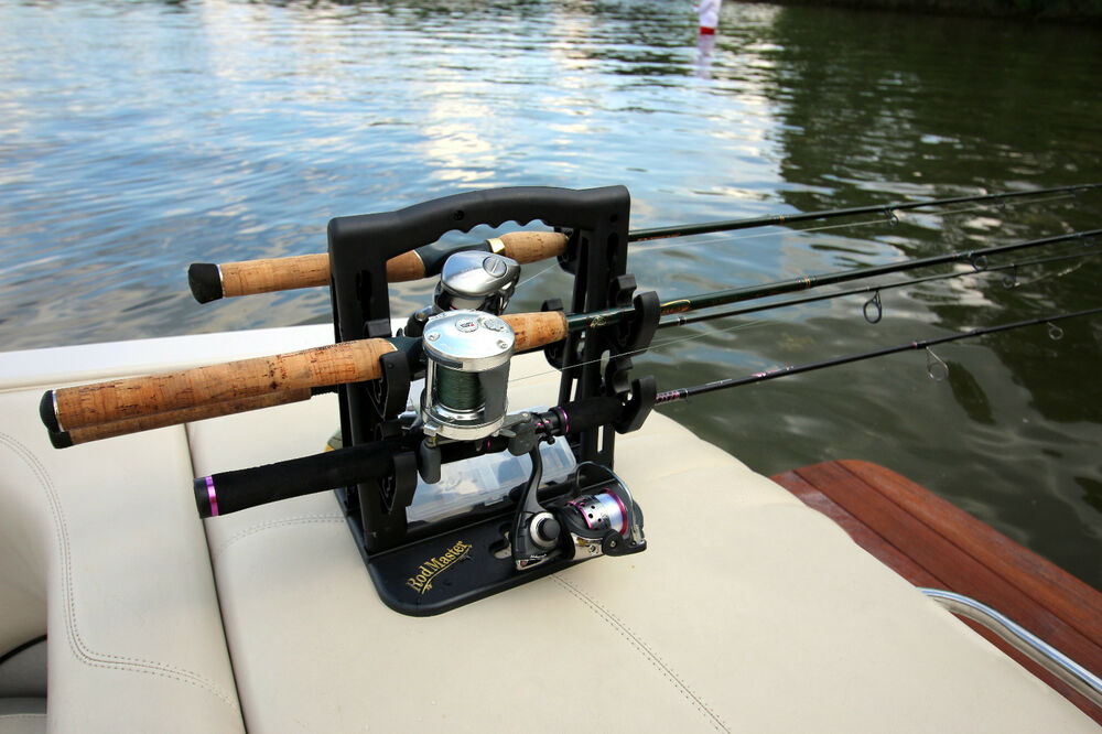 Rodmaster fishing rod caddy fishing rod rack must have for The fishing caddy