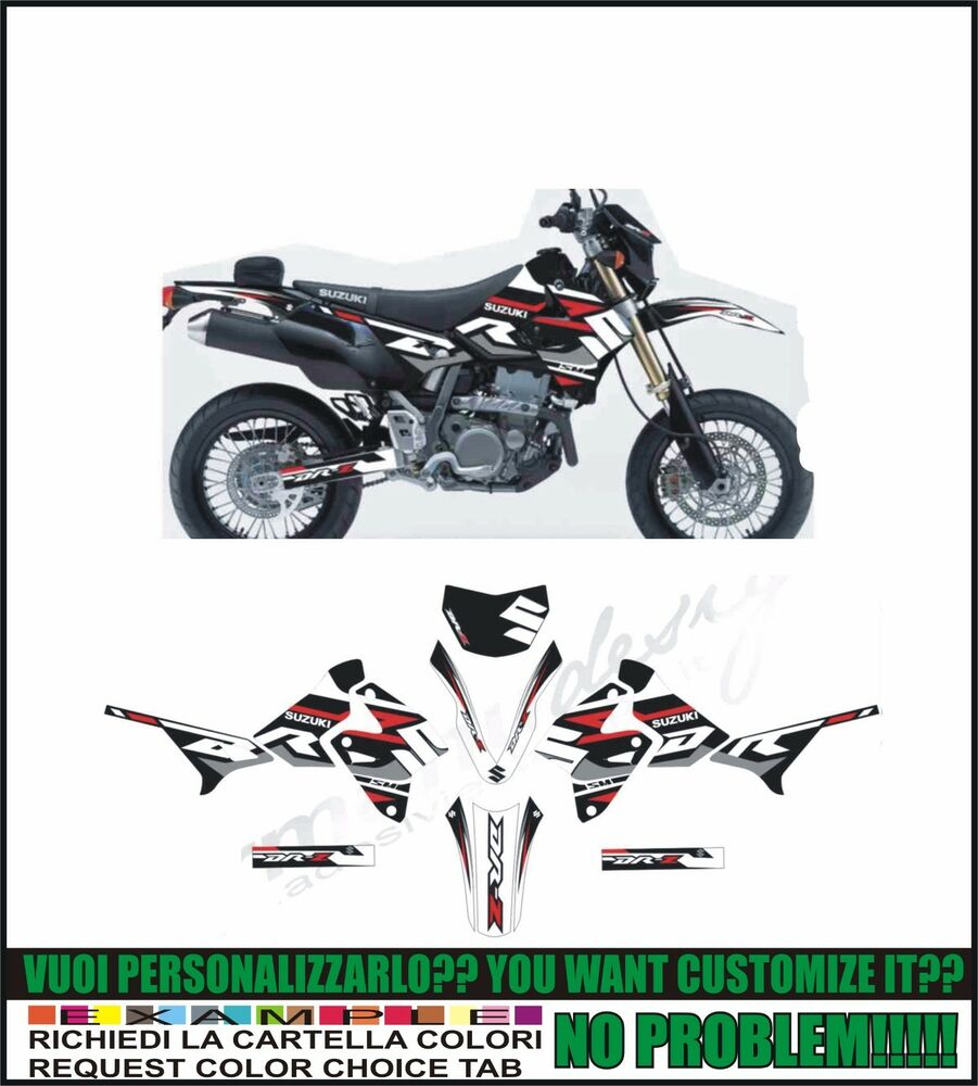 kit adesivi stickers compatibili drz 400 sm formanu Stickers