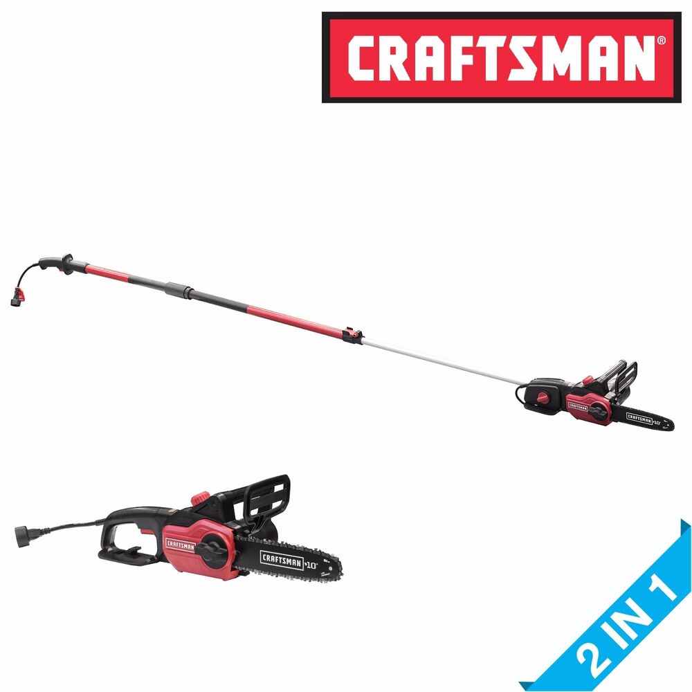 Craftsman 10 Quot 9 Amp Electric Corded Telescoping 2 In 1