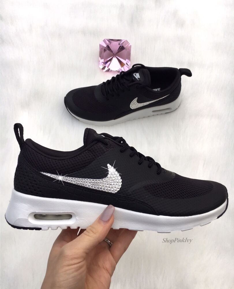 Details about New Bling Nike Air Max Thea With Swarovski Crystals 4ca7d5e16
