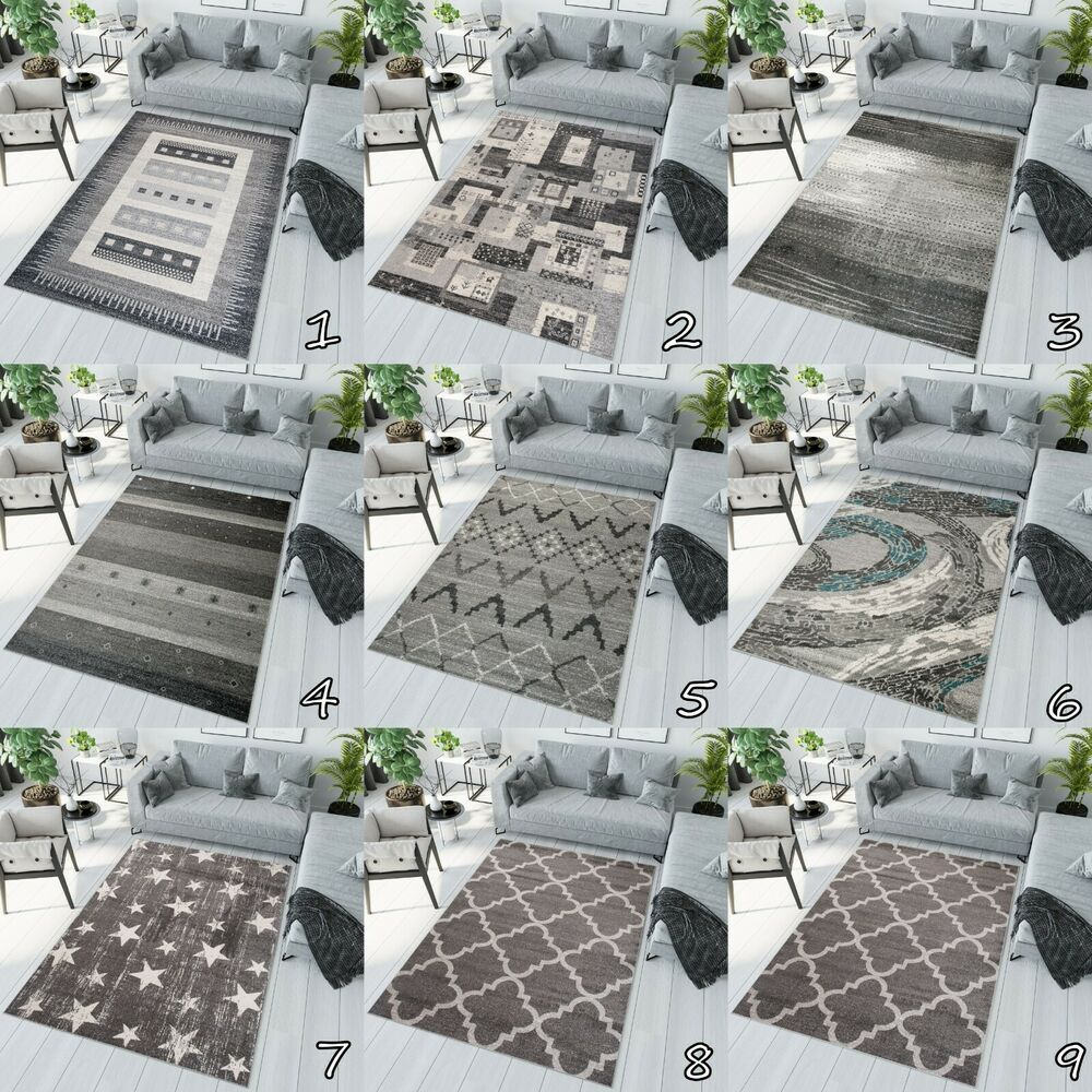 Small x large soft pile new beautiful modern area rugs for - Small area rugs for living room ...