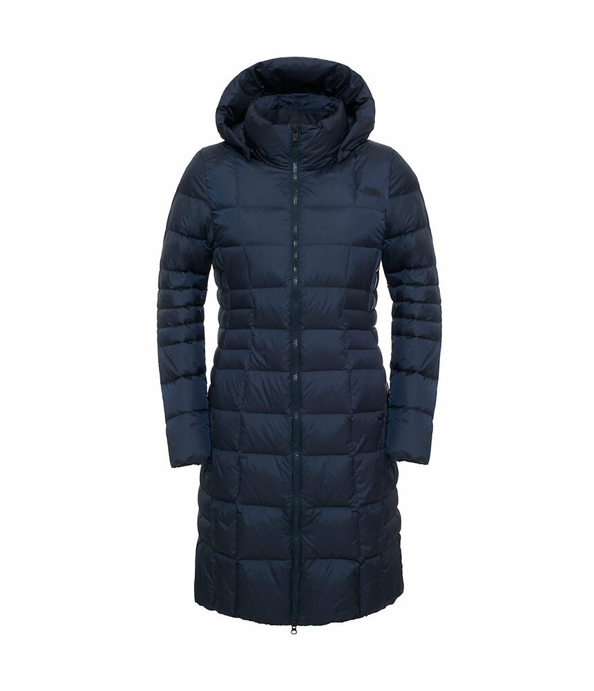 Womens north face down coat