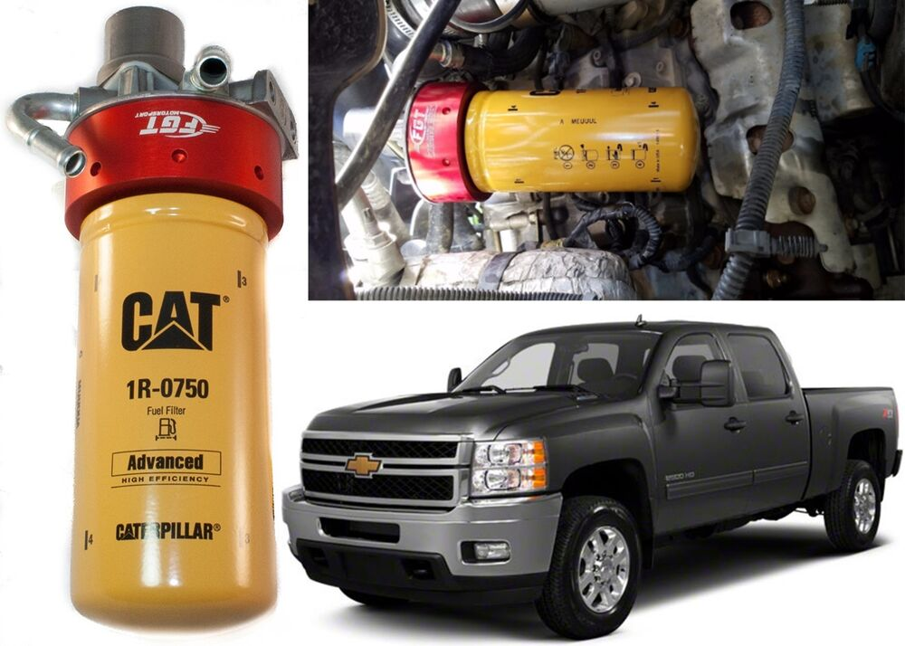 cat fuel filter adapter conversion kit for 2001