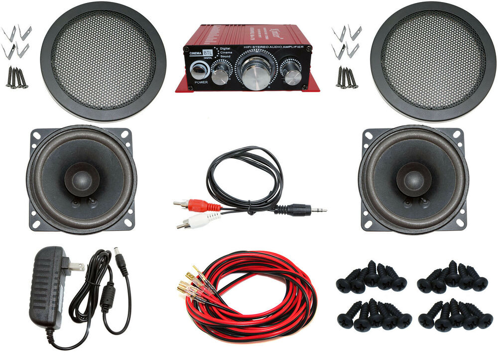 Audio Kit For Arcade Game Mame Cabinet Or Virtual