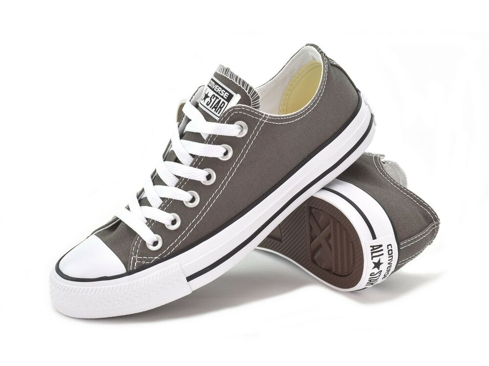 03d510e3fa30 Details about CONVERSE CHUCK TAYLOR ALL STAR OX -UNISEX ADULTS SNEAKERS-  CHARCOAL- 1J794C -NEW