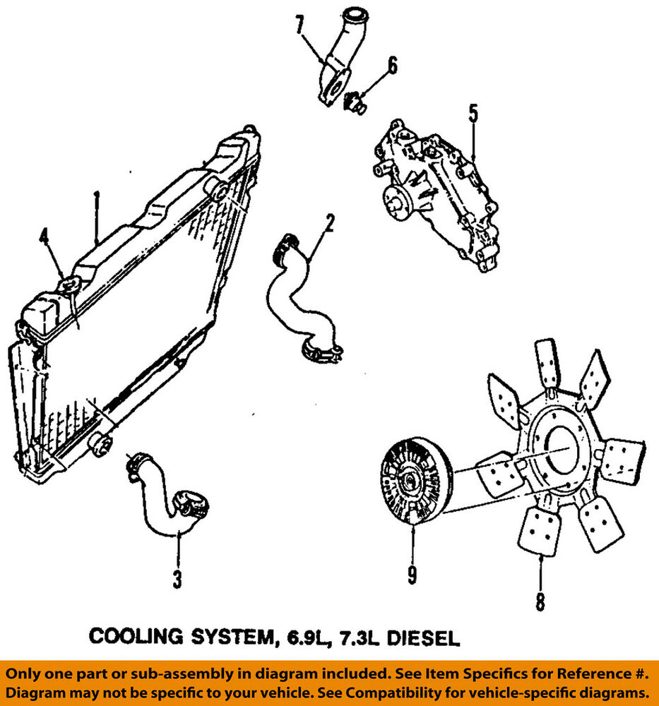 7 3l Cooling System Diagram Electrical Wiring Diagrams F250 Ford Oem 92 94 F 250 Radiator Cap E6hz8100d Ebay Ac