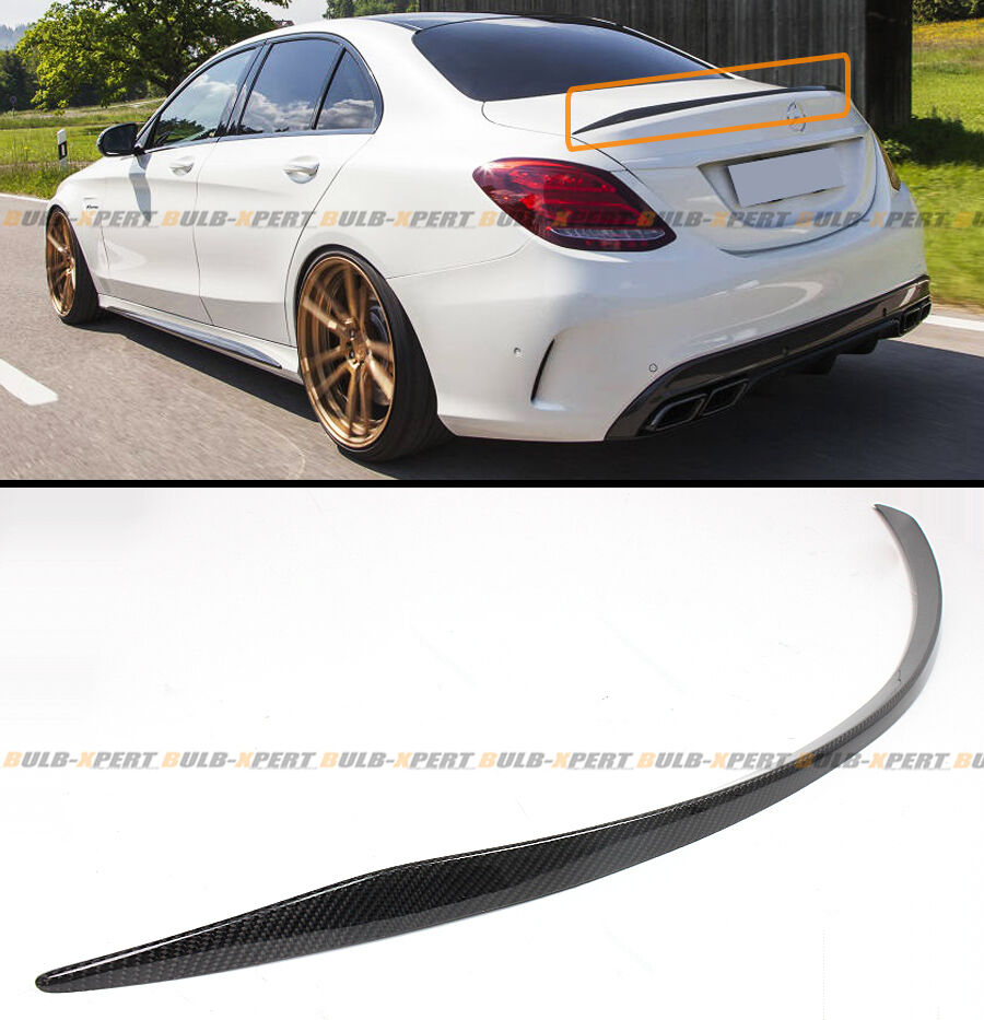2015 2017 mercedes benz w205 c63 amg s oe style carbon for Mercedes benz amg accessories parts