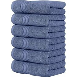 Kyпить 6 Pack Premium Large Hand Towels 700 GSM Cotton 16 x 28 Inches Utopia Towels на еВаy.соm