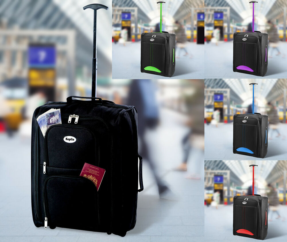Cabin Travel Bag Wheeled Lightweight Suitcase Hand Luggage