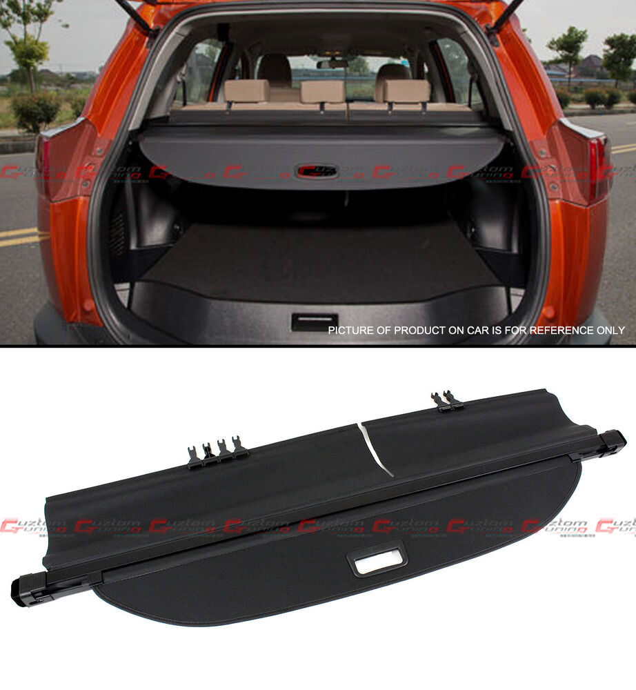 Details About For 2017 2018 Toyota Rav4 Suv Retractable Trunk Cargo Cover Luggage Shade Shield