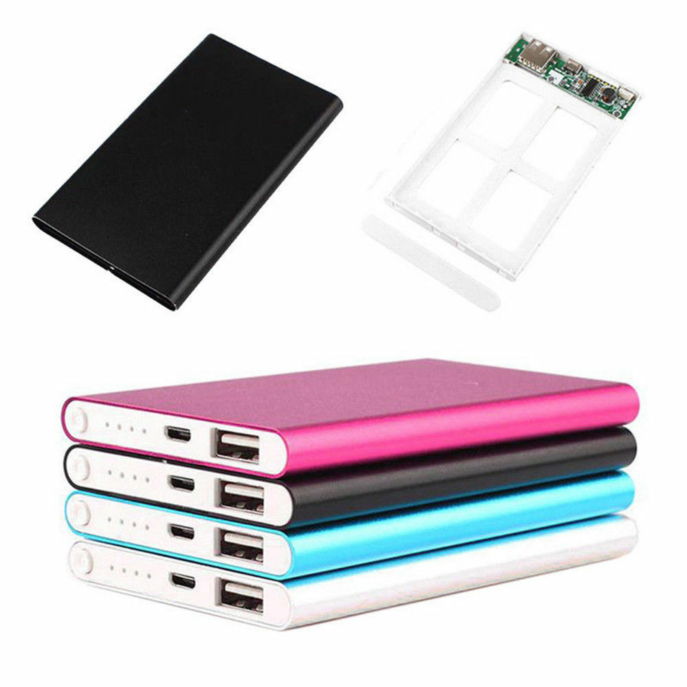 ultrathin 5000mah external battery charger power bank case kit for cell phone ebay. Black Bedroom Furniture Sets. Home Design Ideas