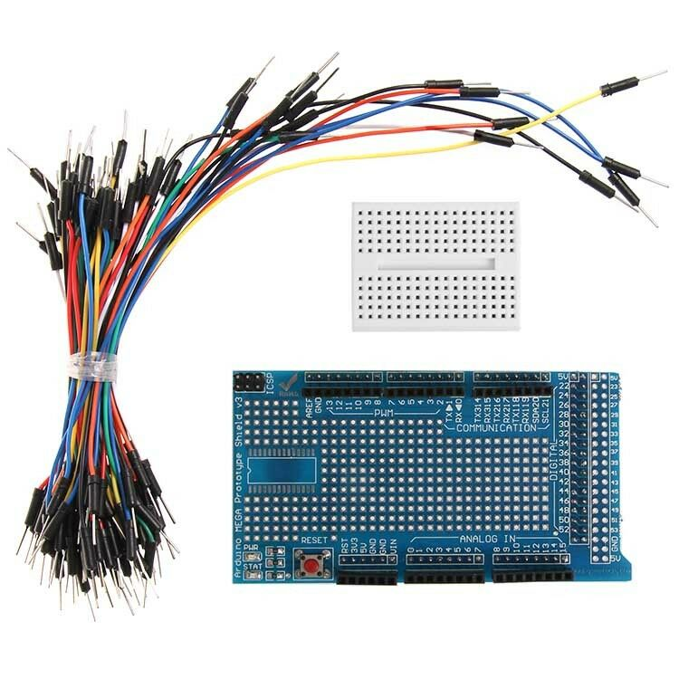 Prototype Shield ProtoShield+breadboard+Jumper Wire for Arduino Due ...