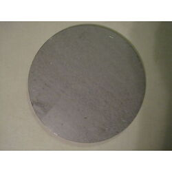 3/16'' Steel Plate, Disc Shaped, 2.5'' Diameter, .1875 A36 Steel, Round, Circle