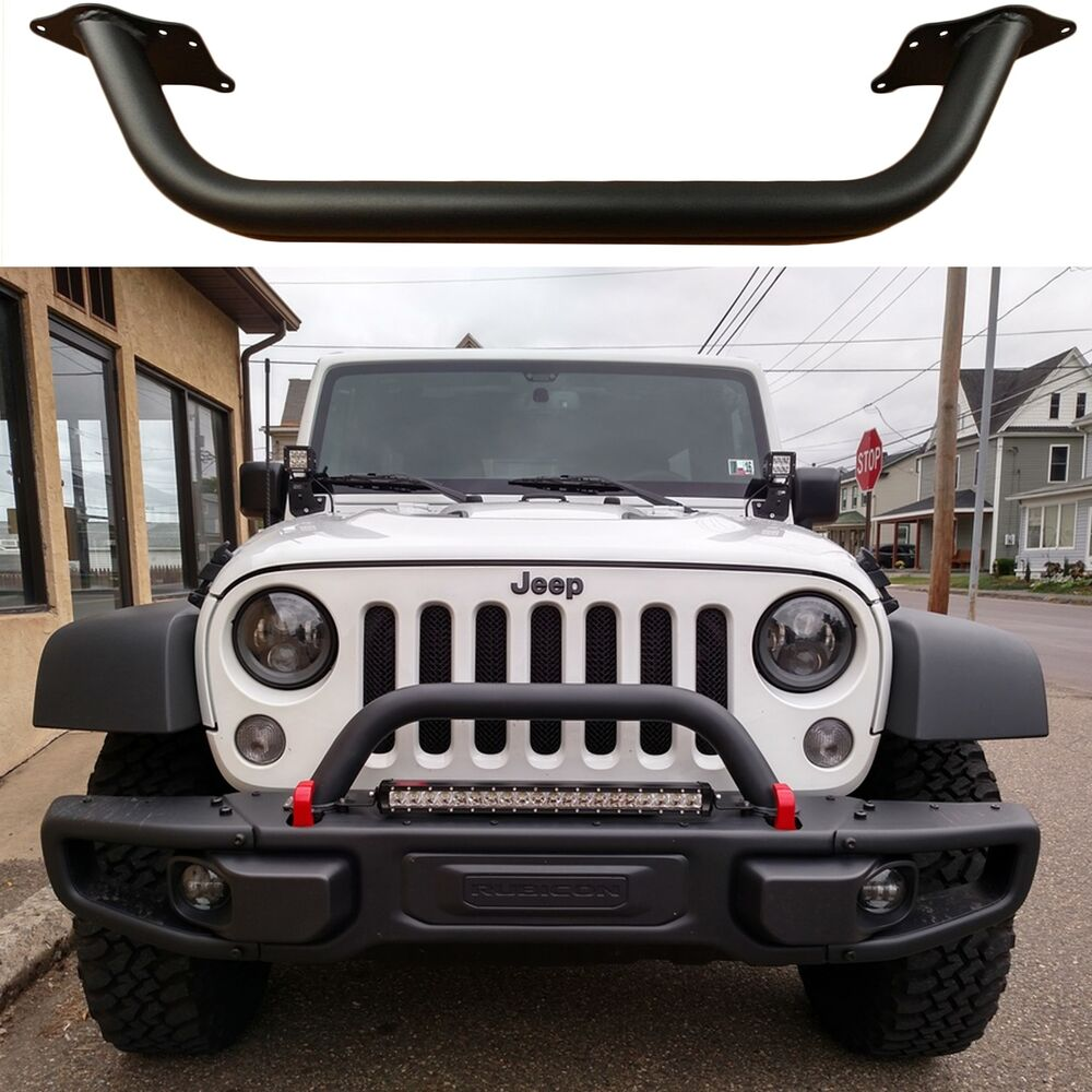 Jeep Wrangler Brush Guard >> OEM Mopar Front Bumper Hoop Bar Brush Guard For 2007-2017 Jeep Wrangler New USA | eBay