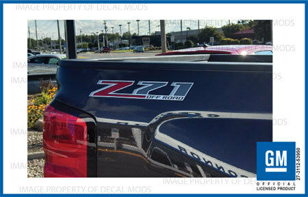 2 2017 Z71 Off Road Decals F Stickers Parts Chevy