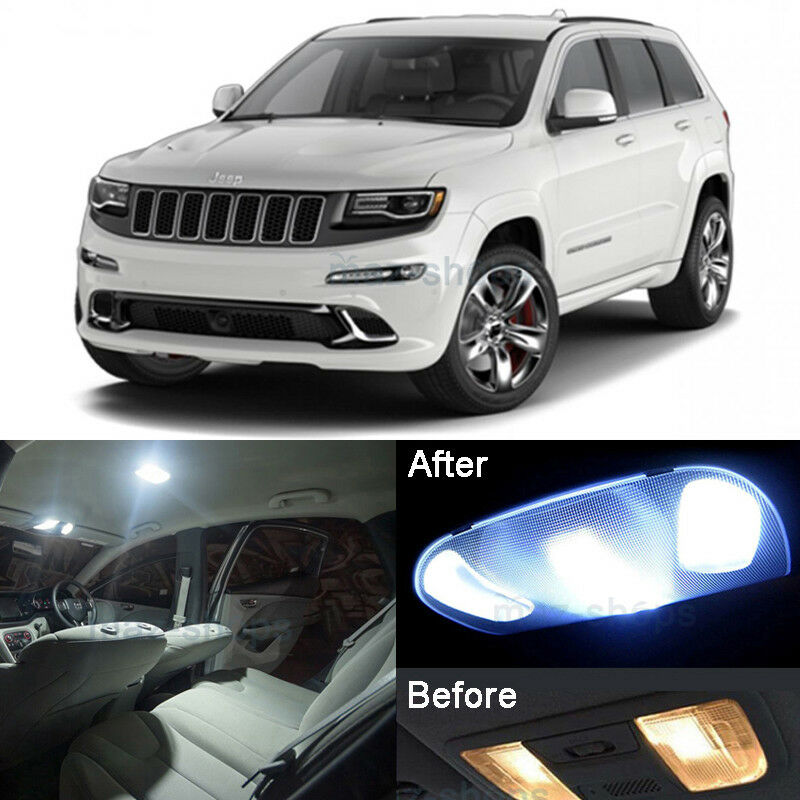 HID White LED Interior Light Kit For Jeep Grand Cherokee