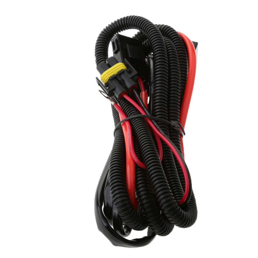 HID 40A 12V Relay Harness 9006 9005 H1 H7 H8 H9 35W/55W Wiring ...
