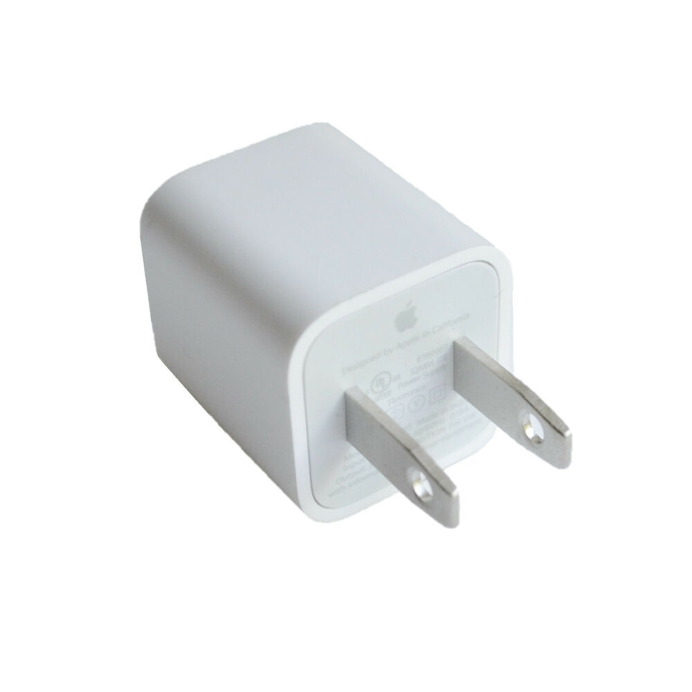 Oem Authentic Apple 5w Usb Power Adapter Charger Wall Plug