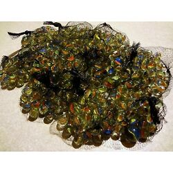 Kyпить Lot of 500+ Cats Eye Marbles 6 lbs Glass 5/8