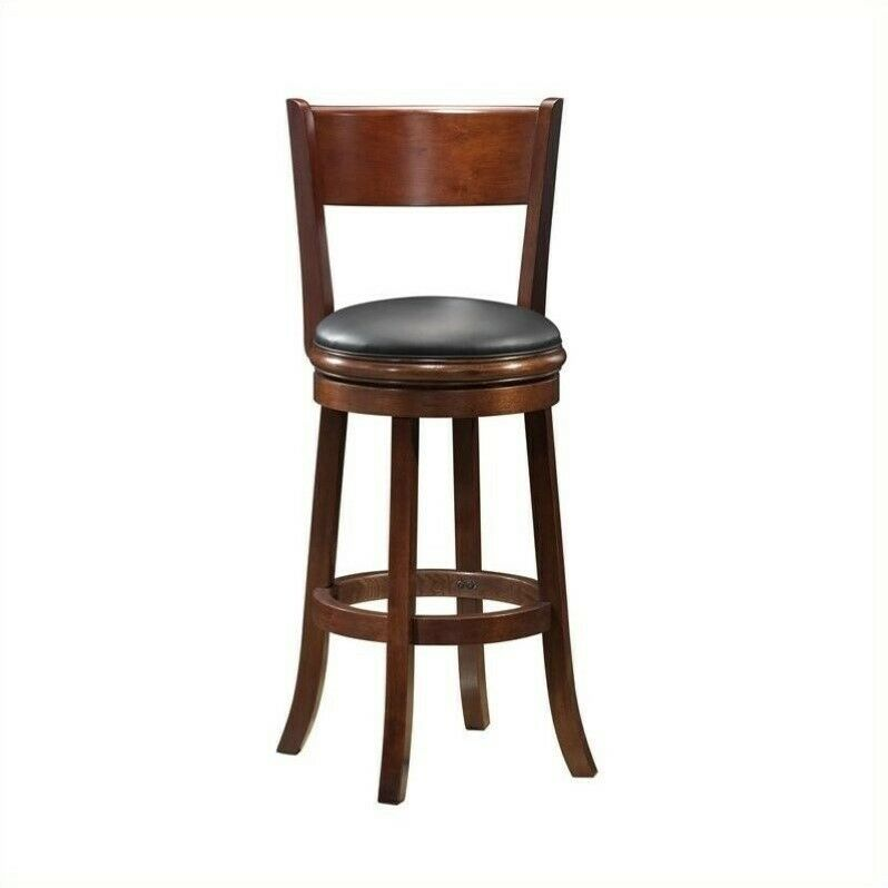 Boraam Palmetto 24 Quot Swivel Bar Stool With Back Without
