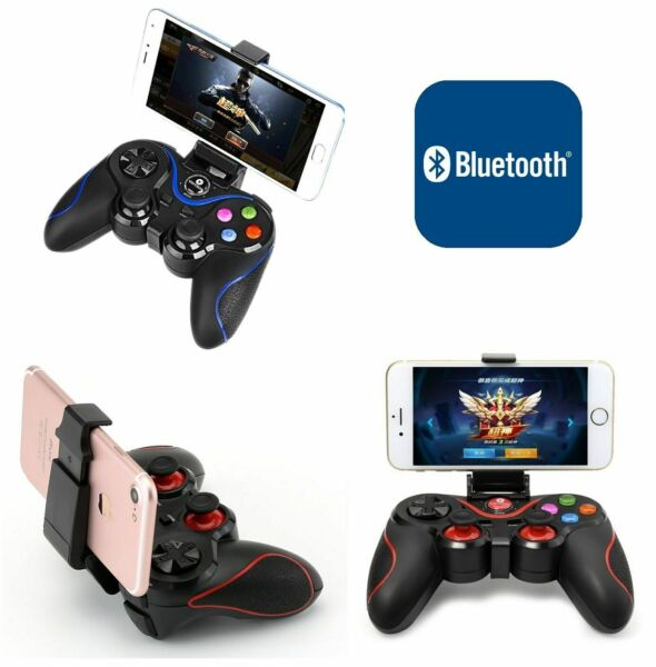 CONTROLLER BLUETOOTH JOYSTICK WIRELESS SMARTPHONE SAMSUNG ANDROID GAME PAD PS3