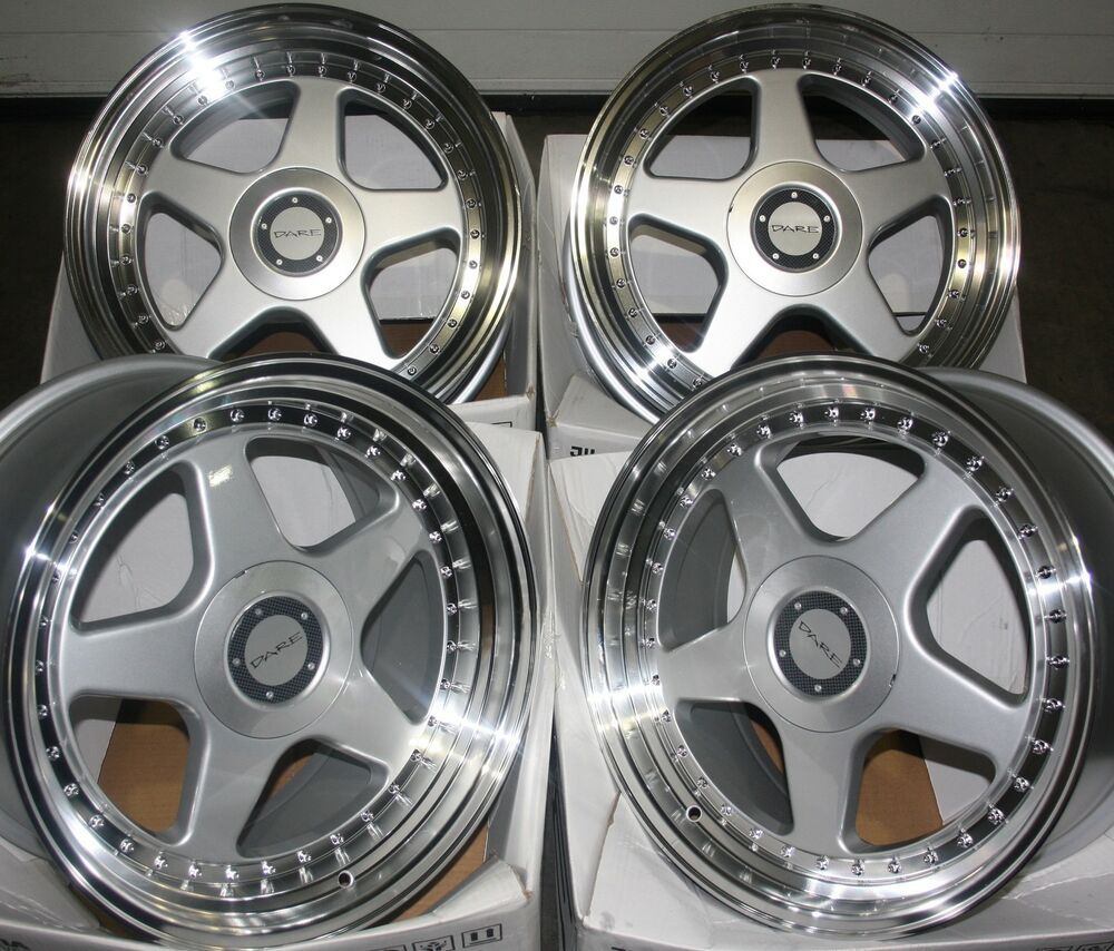"17"" DR-F5 ALLOY WHEELS FITS 5X98 ALFA ROMEO 147 156 164 GT"